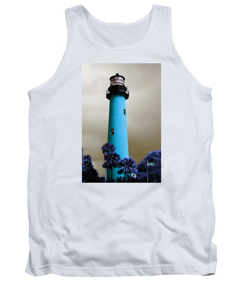 The Blue Lighthouse Tank Top