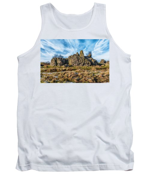 Tank Top featuring the photograph The Bomb Rocks by Nick Bywater