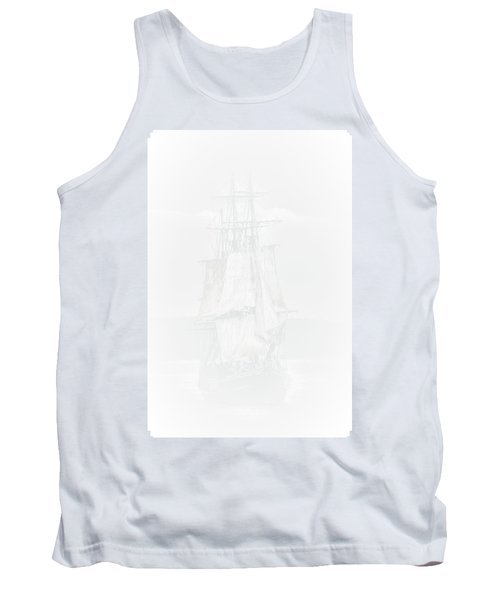 The Ghost Ship Tank Top by David Patterson