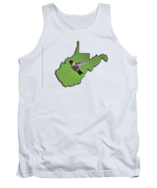 The Ruby-throated Hummingbird Tank Top by Dan Friend
