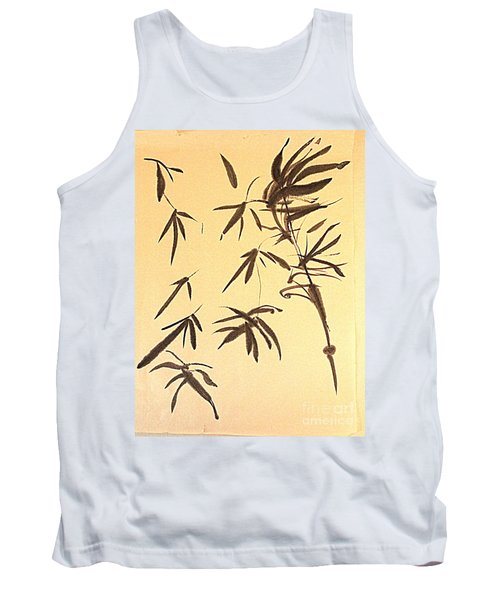 Tank Top featuring the painting Thinking Of Wind 3 by Nancy Kane Chapman