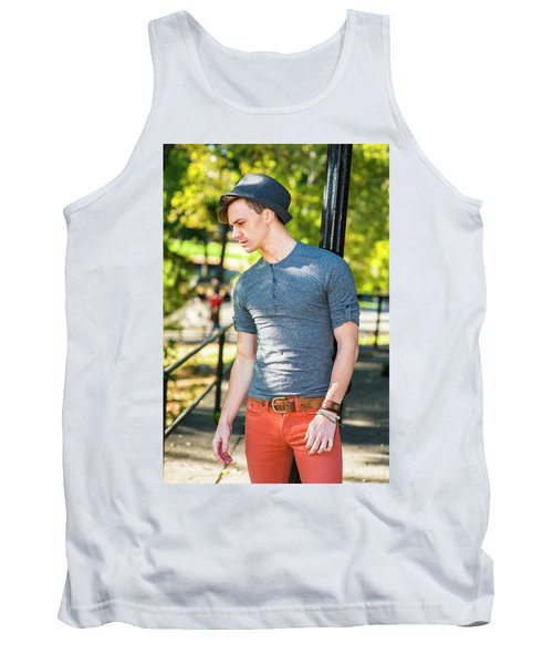 Thinking Outside Tank Top