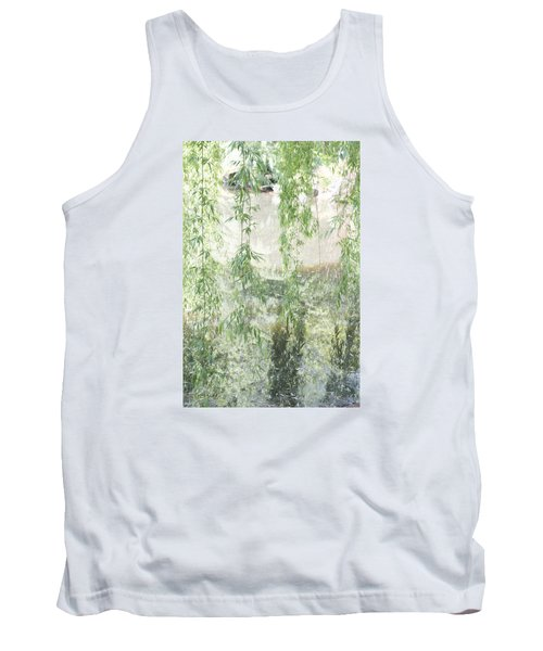 Through The Willows Tank Top by Linda Geiger