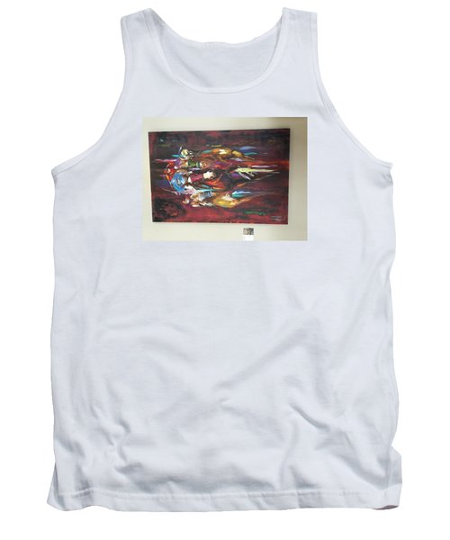 Thunder Tank Top by Heather Roddy