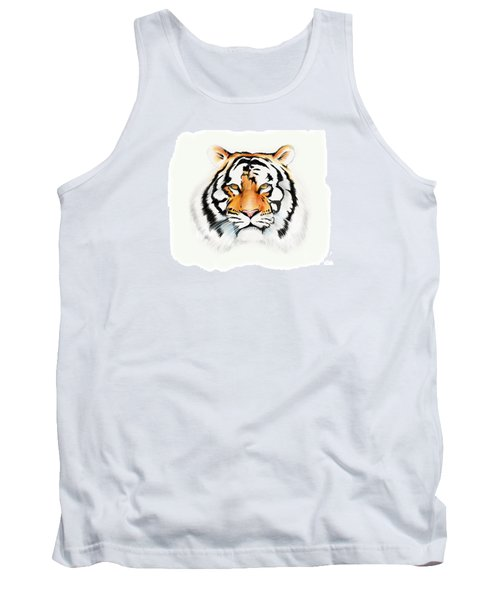 Tiger Tank Top by Brian Gibbs