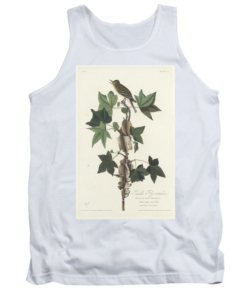 Traill's Flycatcher Tank Top by John James Audubon