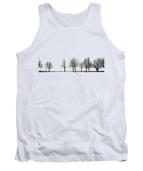 Trees Tank Top by Chevy Fleet