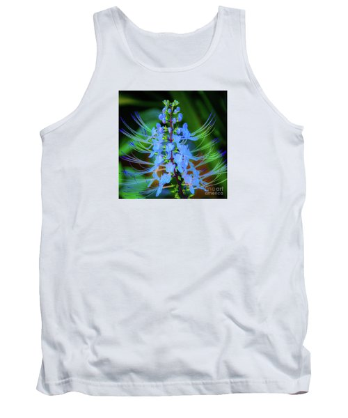 Tropical Plants And Flowers In Hawaii Tank Top