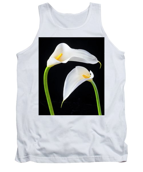 Two Lovely Calla Lilies Tank Top