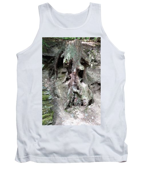 Unusual Tree Root Tank Top