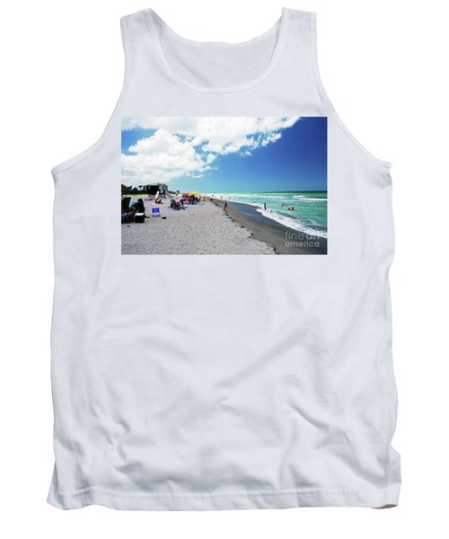 Tank Top featuring the photograph Venice Beach by Gary Wonning