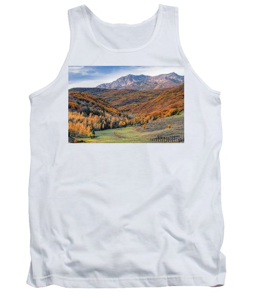 Wasatch Moutains Utah Tank Top