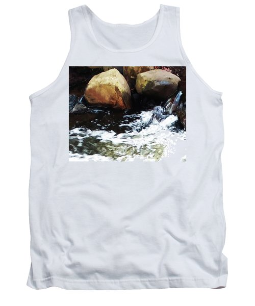 Waterfall Abstract Tank Top
