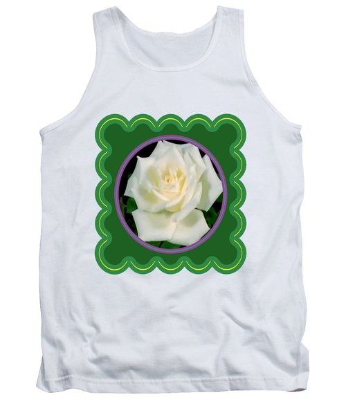 White Rose Flower Floral Posters Photography And Graphic Fusion Art Navinjoshi Fineartamerica Pixels Tank Top