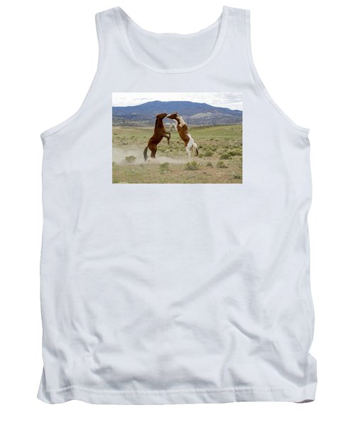 Wild Mustang Stallions Sparring Tank Top