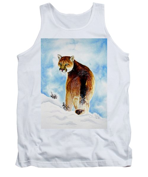 Winter Cougar Tank Top