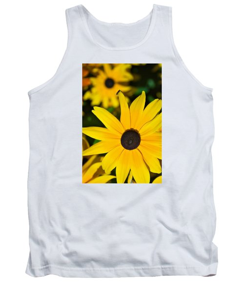 Tank Top featuring the photograph Yellow Flowers by Bob Pardue