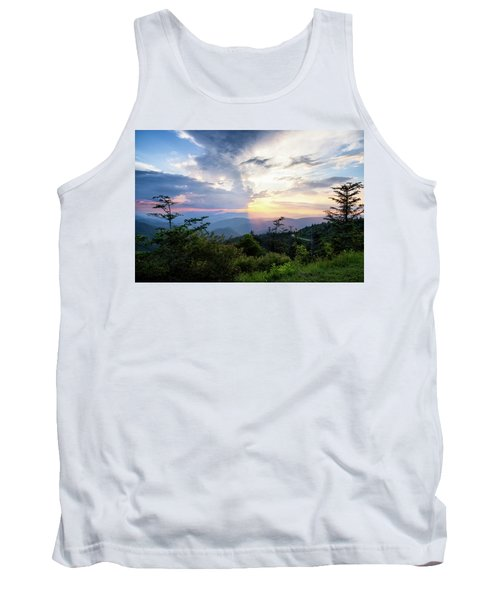 Yin And Yang Tank Top by Deborah Scannell