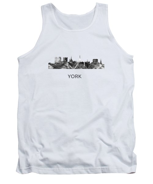 York Skyline England Tank Top