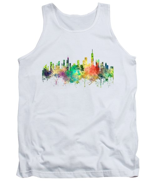 Chicago Illinois Skyline Tank Top