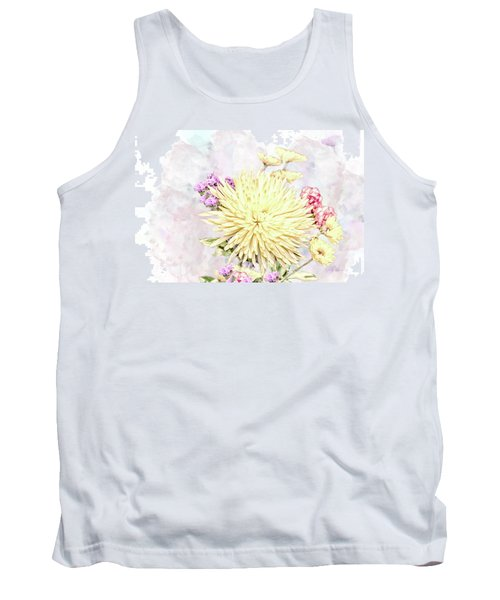 10865 Spring Bouquet Tank Top