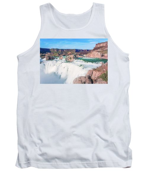 10917 Shoshone Falls Tank Top by Pamela Williams