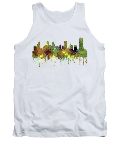 Buffalo New York Skyline Tank Top