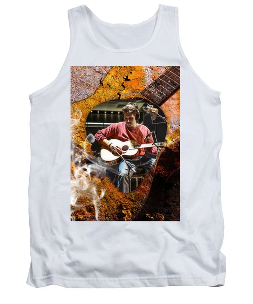 John Mayer Art Tank Top by Marvin Blaine