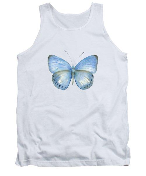 110 Blue Jack Butterfly Tank Top