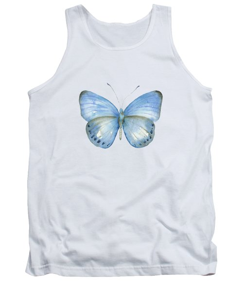 110 Blue Jack Butterfly Tank Top
