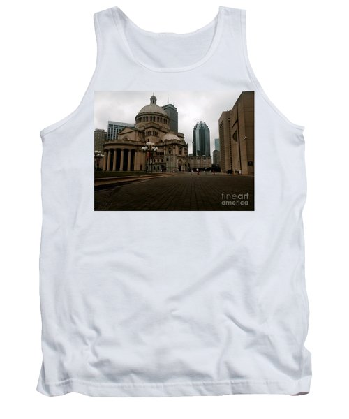 111 Huntington Ave Tank Top by KD Johnson