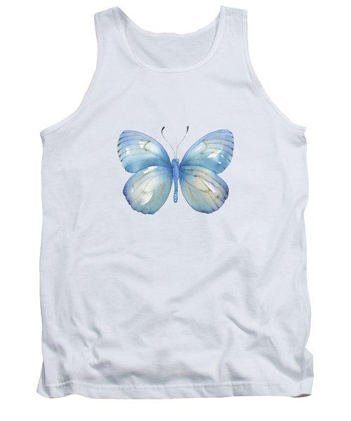 112 Blue Marcia Butterfly Tank Top