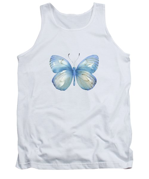 112 Blue Marcia Butterfly Tank Top