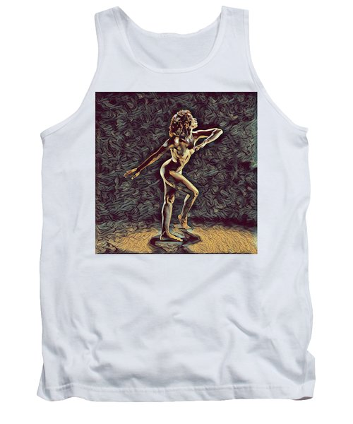 1192s-zac Nudes In The Style Of Antonio Bravo  Tank Top
