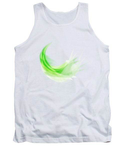 Abstract Feather Tank Top by Setsiri Silapasuwanchai