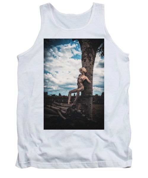 Tank Top featuring the photograph Kelevra by Traven Milovich