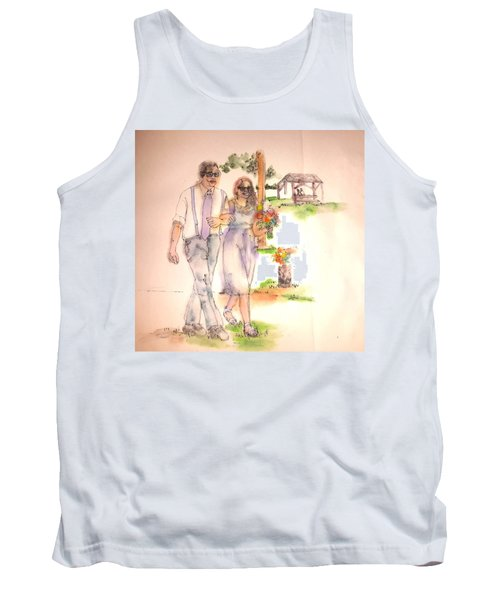 The Wedding Album  Tank Top by Debbi Saccomanno Chan