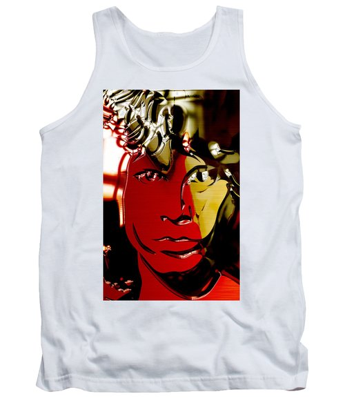 Jim Morrison Collection Tank Top by Marvin Blaine