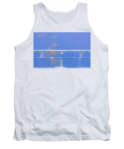Blue Metal Tank Top
