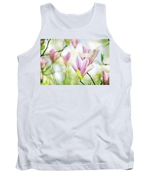 Magnolia Flowers Tank Top