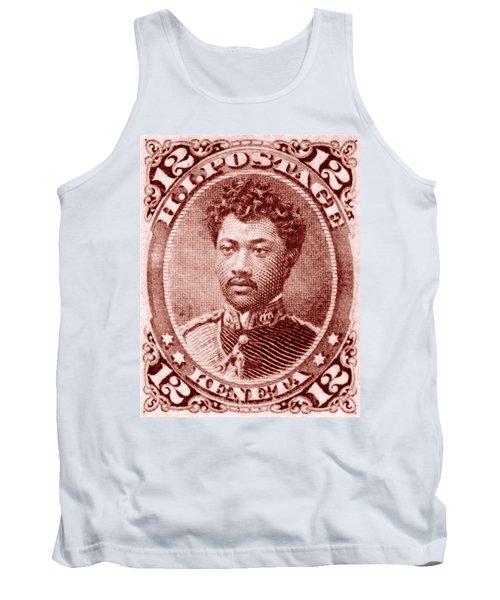 1883 Hawaiian Prince Leleiohoku Stamp Tank Top