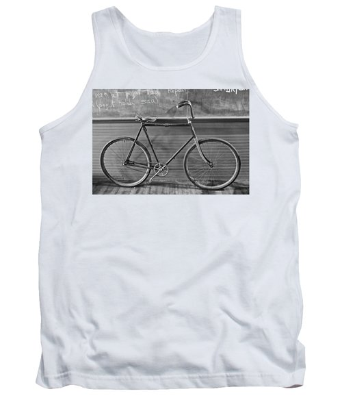 Tank Top featuring the photograph 1895 Bicycle by Joan Reese