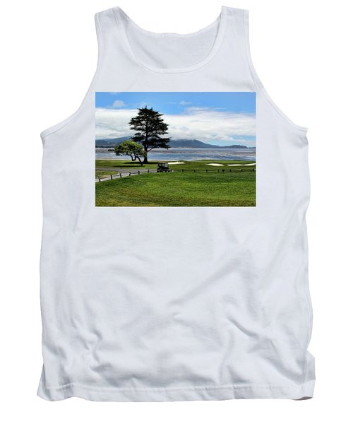 18th At Pebble Beach Horizontal Tank Top