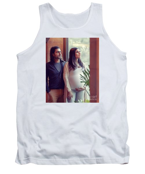 Happy Family At Home Tank Top