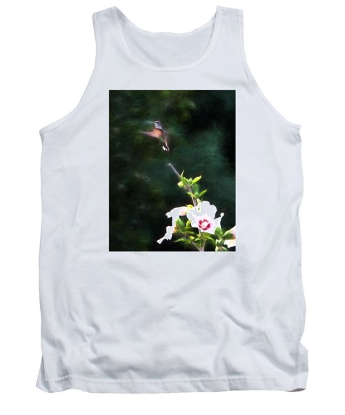 Tank Top featuring the photograph Hummingbird by John Freidenberg