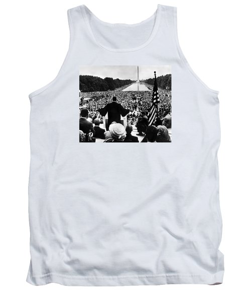 Martin Luther King Jr Tank Top by American School