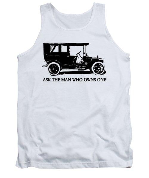 1909 Packard Limousine Slogan Tank Top