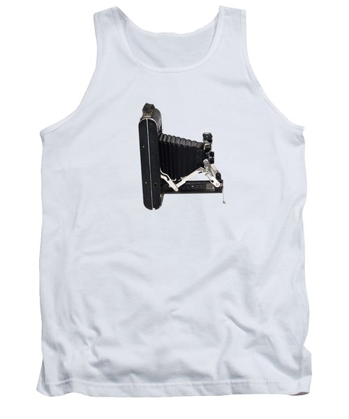 Tank Top featuring the photograph 1921 Kodak A 116 Folding Bellows Camera  by Bill Cannon