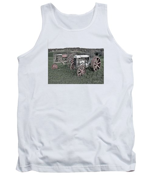 1923 Fordson Tractors Tank Top by Mark Allen