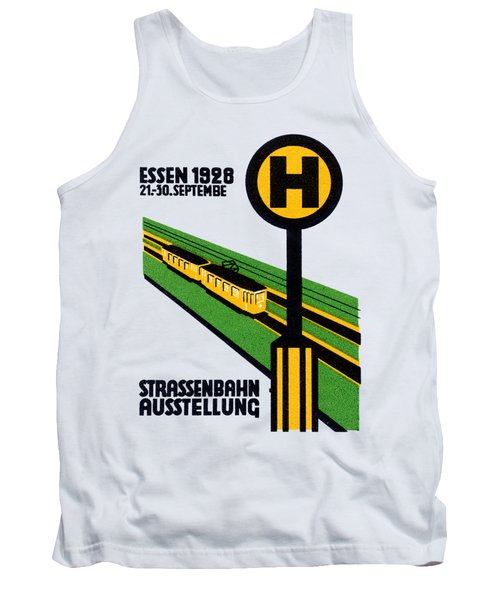1928 Street Car Exposition Tank Top